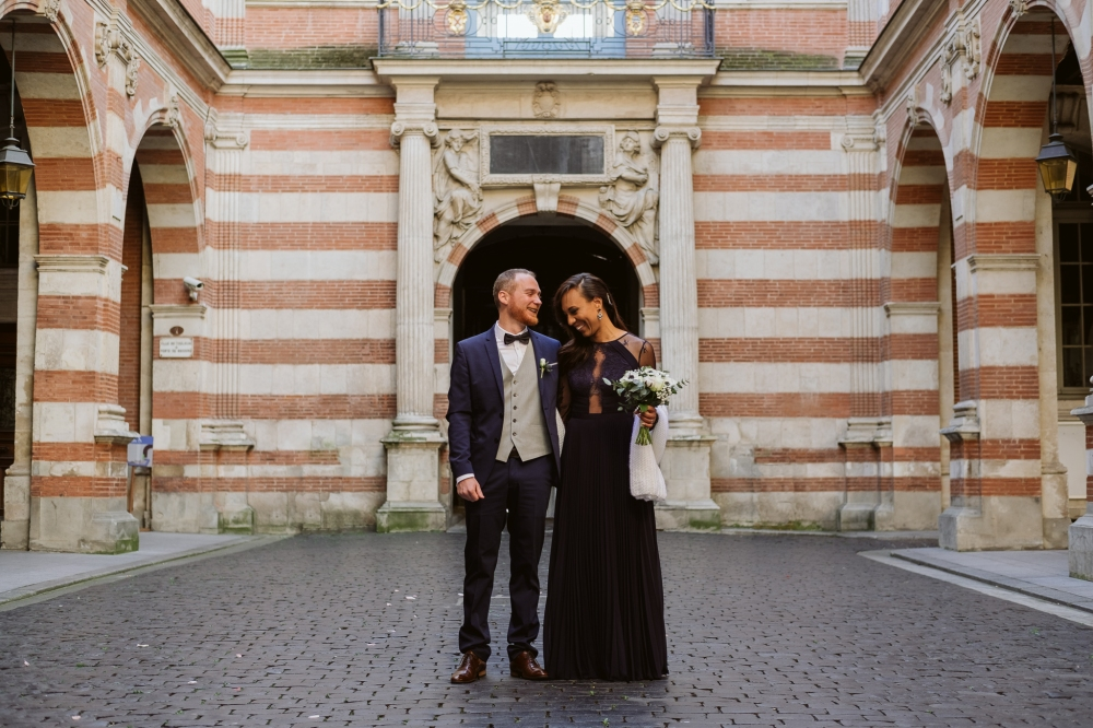 toulouse wedding - isa and rich - 2017